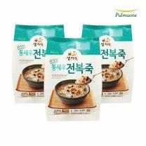 [풀무원 직배송]통새우전복죽 500g(2인분)X3개