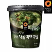 청정원 갓지은밥맛! 진한사골미역국밥 82.4g