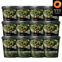 청정원 갓지은밥맛! 진한사골미역국밥 82.4gx12개(1박스)