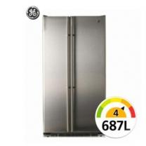 [하이마트] 양문형냉장고 GCE24KBBF [687L/온도 유지 시스템/스마트 전자센서]