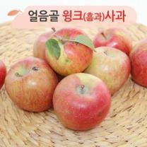 (인빌푸드)얼음골 윙크(흠과)사과 10kg(24~30과)