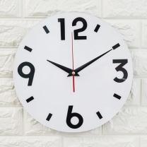 [바보사랑]인테리어 아크릴 시계-CL0001 심플 무소음 벽시계