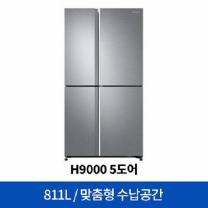 [하이마트] 4도어냉장고 RH81M8131S8 [811ℓ]