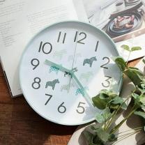 [바보사랑]북유럽 라운드 저소음벽시계(민트)lovesweety