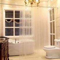 [바보사랑]호텔 반투명 샤워커튼 180x180cm