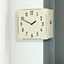 [바보사랑](ktk096)코너벽시계 내추럴 BIG