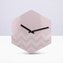 [바보사랑]리플렉스 웨이브 헥사곤 무소음벽시계 HEX46
