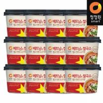청정원 베트남쌀국수 맵고진한쇠고기맛 75.4gx12개