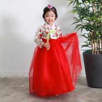 예화_ 여아 아동한복 꽃레이스저고리 17-2033