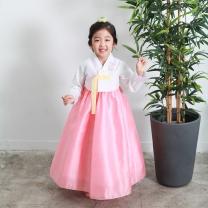 예화_ 여아 아동한복 레이스소매저고리 17-2028