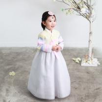 예화_ 여아 아동한복 색동연노랑저고리 17-2031