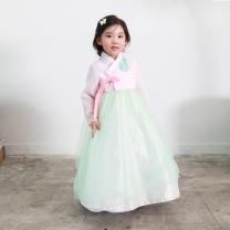예화_ 여아 아동한복 깃레이스핑크저고리 17-2021