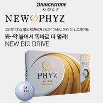 17년 투어스테이지 PHYZ(파이즈) 골프볼[4피스/12알] 4가지색상