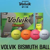 볼빅 BISMUTH Rainbow(비스무스 레인보우)골프공[3피스/12알][4color혼합