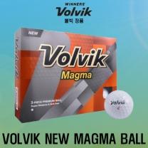 볼빅 NEW MAGMA (뉴 마그마) 골프공 [3피스/12알] [화이트]