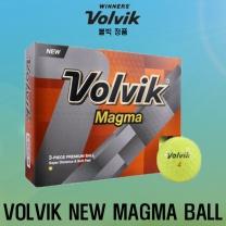 볼빅 NEW MAGMA (뉴 마그마) 골프공 [3피스/12알] [옐로우]