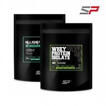 SP스포츠 메가팩 WPI 3kg + 메가팩 I 3kg 세트 / 단백질보충제 분리유청단백질