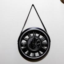 [바보사랑]손잡이가죽벽시계(638) (1)
