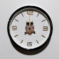 [바보사랑]사출금속부엉이벽시계(28)
