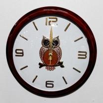 [바보사랑]원목부엉이벽시계(400) (28)