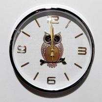 [바보사랑]사출금속부엉이벽시계(360) (28)