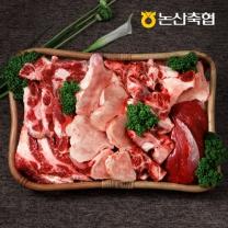 [논산축협]장군한우 보신세트 2호/3.7kg - 사골 800g+반골 800g+잡뼈1.5kg+국거리 600