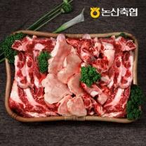 [논산축협]장군한우 모듬보신세트 3.5kg - 사골 1kg+반골 1kg+잡뼈 1.5kg(총3.5kg)