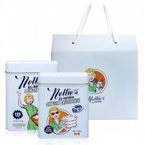 [넬리]new 소다세제 선물세트(세제 125회+산소표백제 1kg)