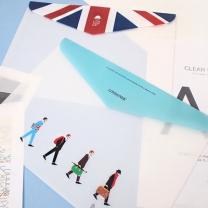 [바보사랑]LONDON 가로봉투 파일 2Set