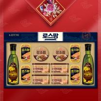 롯데푸드 로스팜 혼합 2A호 설 추석 선물세트