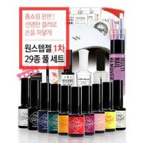 위드샨 원스텝 홈쇼핑 젤네일세트 29종 (BEST 컬러/1차)
