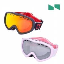 N 스키/보드 미러 안경병용 아동 고글 2O201