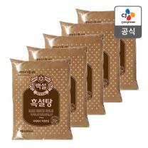 [CJ직배송] 흑설탕 1kg X5개