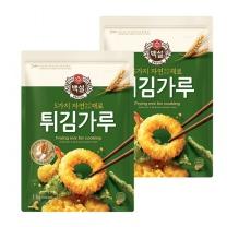 [CJ직배송] 5가지자연에서얻은재료 튀김가루 1kg X2개