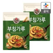 [CJ직배송] 5가지자연에서얻은재료 부침가루 1kg X2개