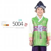 [예화-좋은아이들] 名品 남아 아동한복_ 5004 수박 (긴배자+저고리+바지)/남아한복