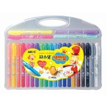 24색 파스넷 색연필(15000/아모스)