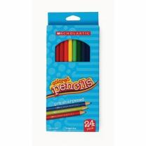 [129613]색연필 24색 SCHOLASTIC