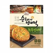 [롯데푸드] 초가삼간 광장시장 순희네 빈대떡 녹두빈대떡(5개)