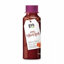 (풀무원녹즙) 쉬러브 석류&이소플라본 (130ml)*12일