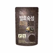 (풀무원녹즙) 발효숙성 흑마늘600 (80ml)*12일