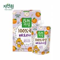 [자연원] 5無과일 100% 국산 배도라지즙 100ml x 8포