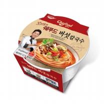 [롯데푸드]쉐푸드 버섯칼국수 용기 (216gx12개)