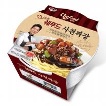 [롯데푸드]쉐푸드 사천짜장 용기 (210gx12개)