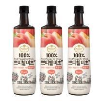 [CJ직배송] 쁘띠첼 미초 복숭아 900ml X 3개