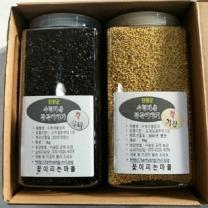 (인빌푸드) 수청마을 잡곡세트2  2kg(찰흑미+찰기장)