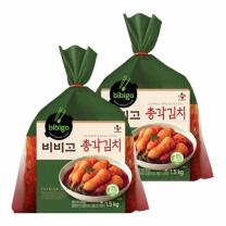 [CJ직배송]비비고 총각김치 1.5KGx2개