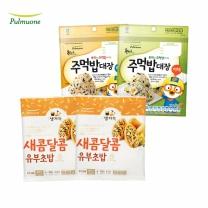 [풀무원]새콤달콤유부초밥4인x2개+주먹밥대장 야채+주먹밥대장 해물