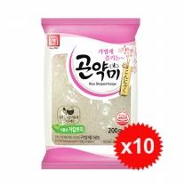 [한성기업] 곤약미(곤약쌀) 200gx10
