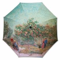 [바보사랑]명화_우블리-고흐 연인이 있는 정원 65우산양산겸용 멜빵자동우산